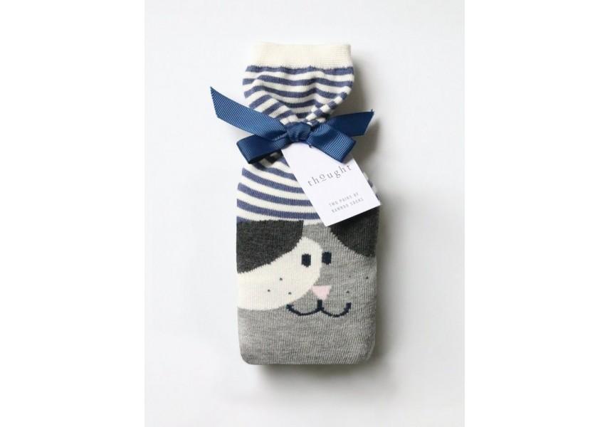 Bambusové ponožky dámské psí