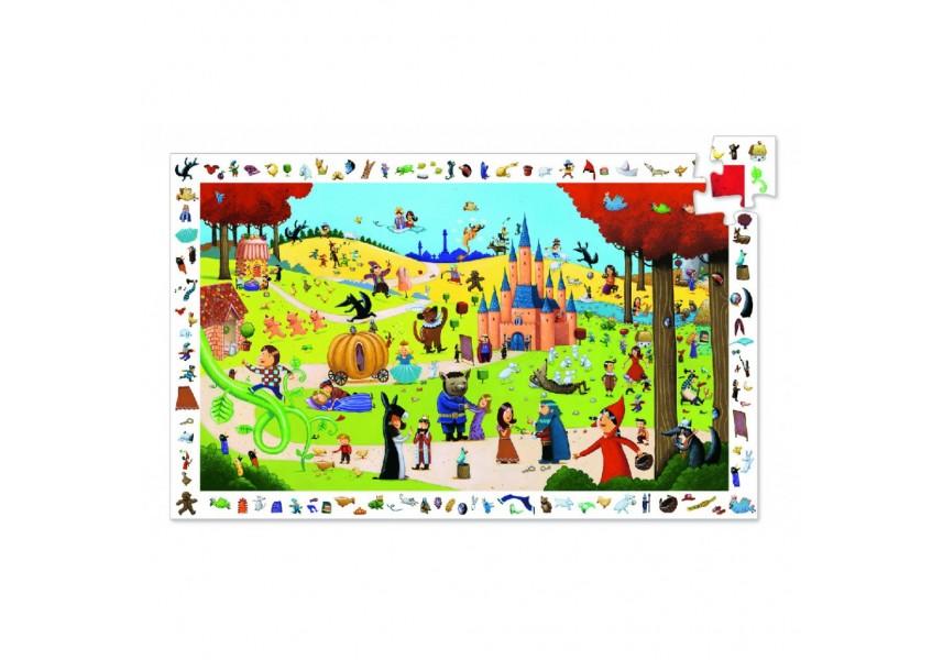 Vyhledávací puzzle Pohádky - 54 dílků
