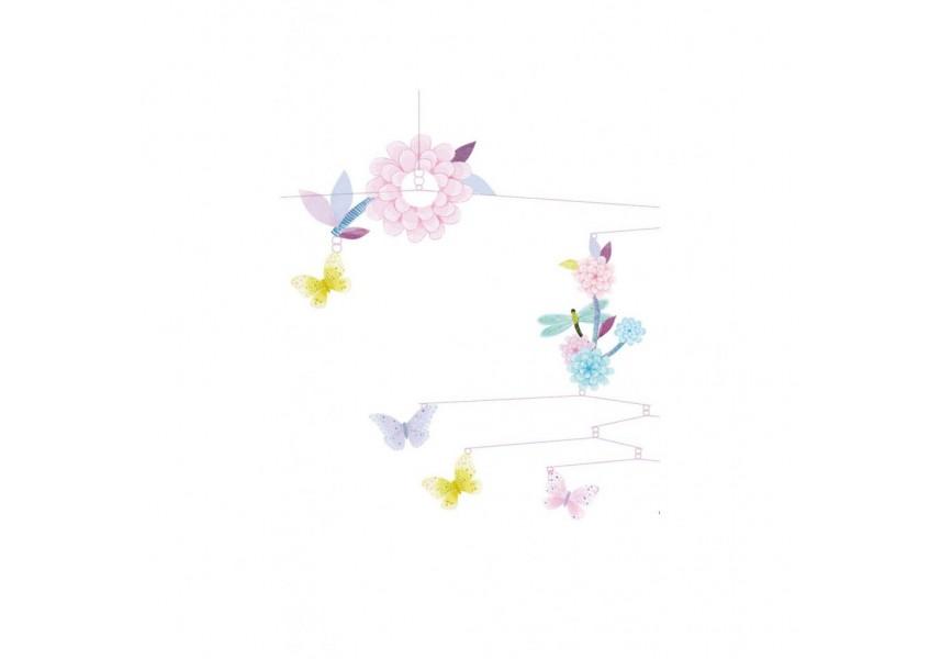 Závěs létající motýli