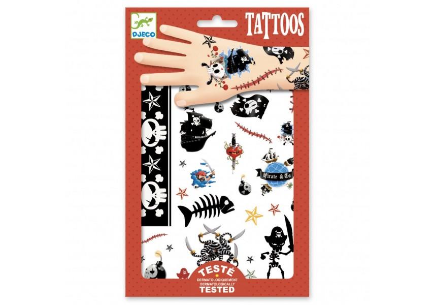 Tetování Piráti