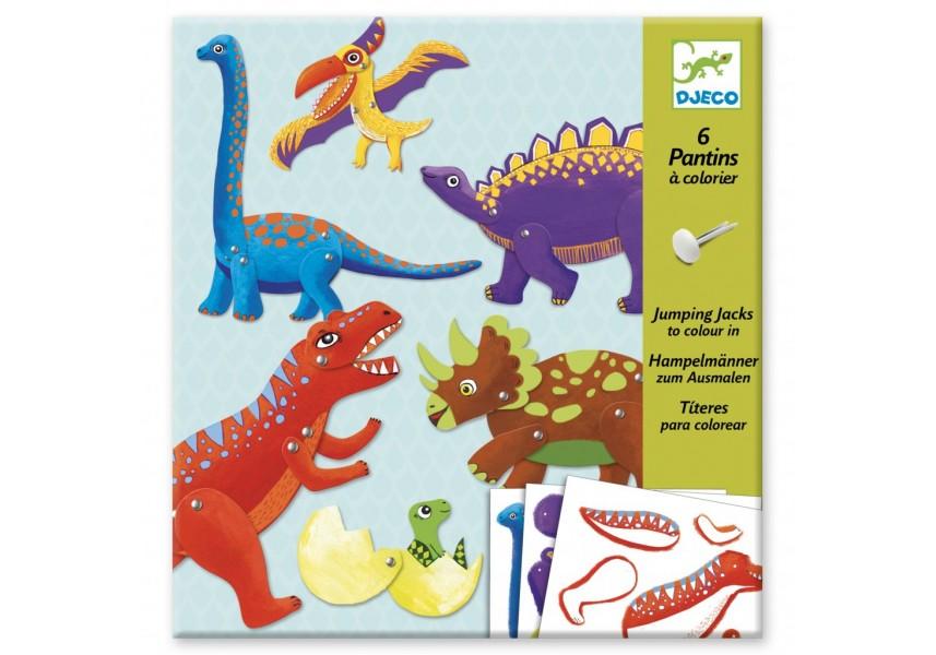 Loutky Dinosauři