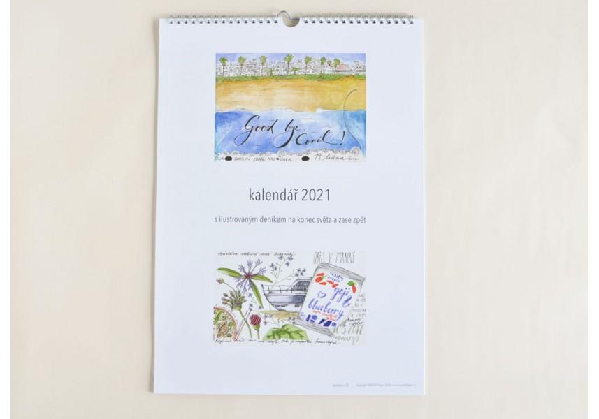 Kalendář 2021 - Ilustrovaný deník