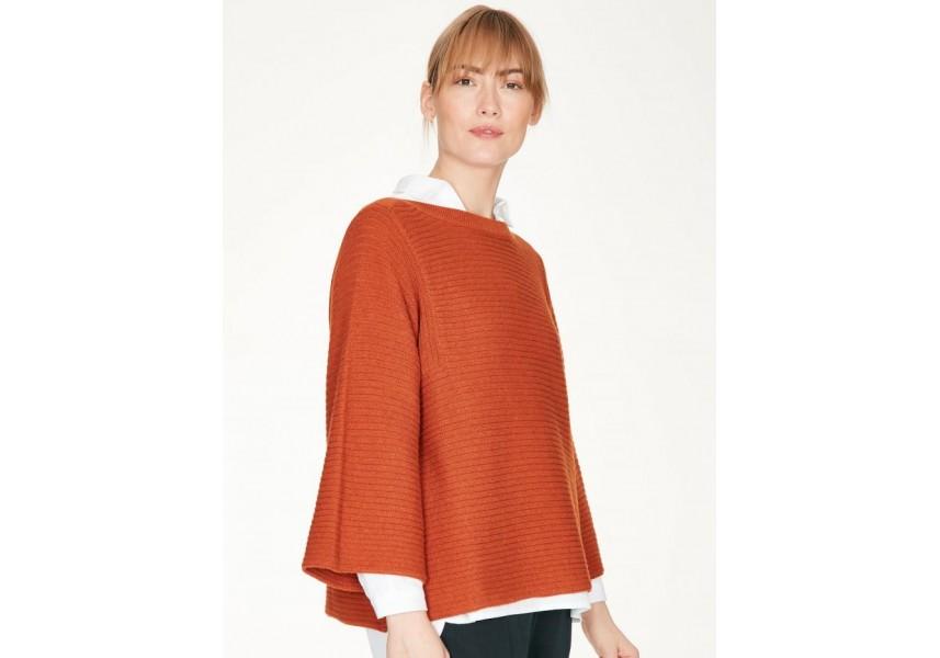 ELISHA dámský svetr kořeněný pomeranč