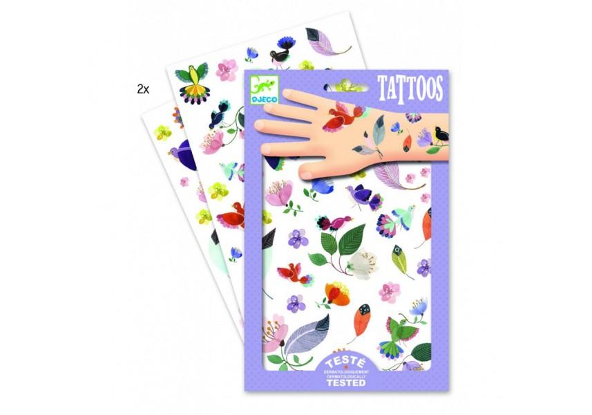 Tetování Něžné motivy