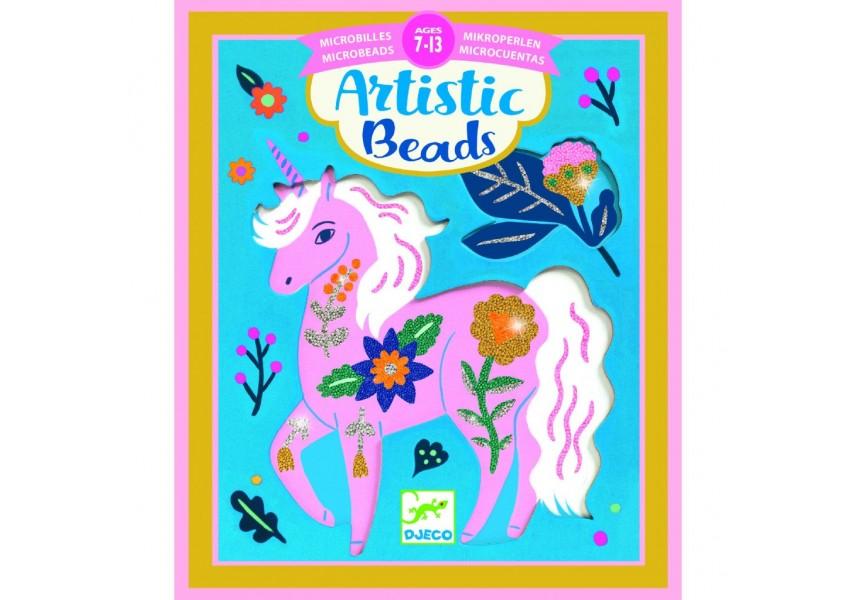 Umělecké perličky Květinová zvířátka