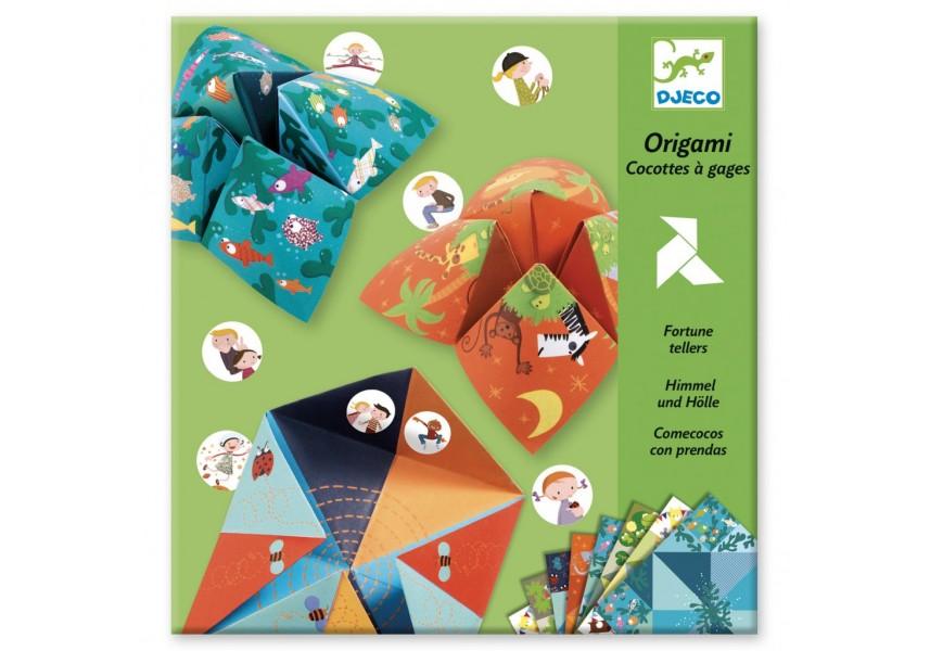 Origami Nebe peklo ráj