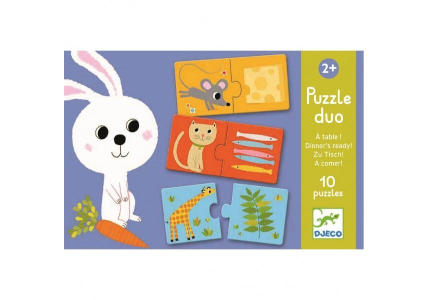 Duo Puzzle Co bude dnes k obědu