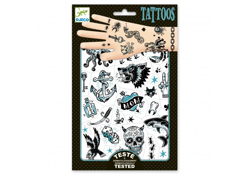 Tetování Temný svět