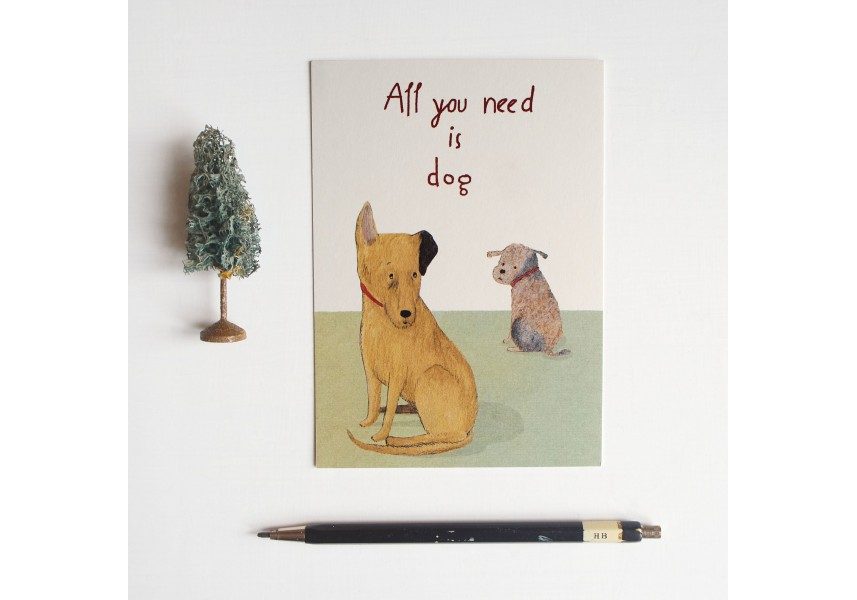 Pohled All you need is dog
