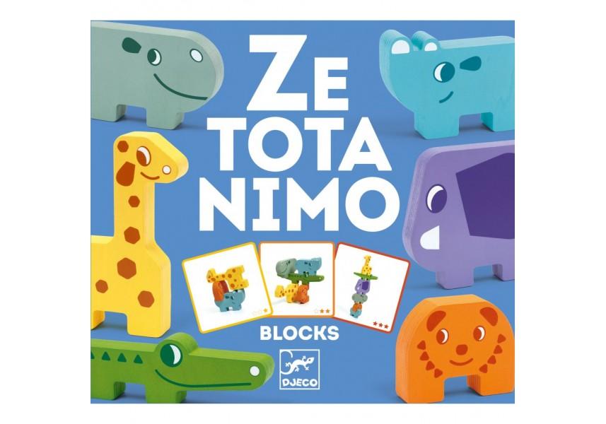 Puzzlové kostky zvířatka ze Zoo