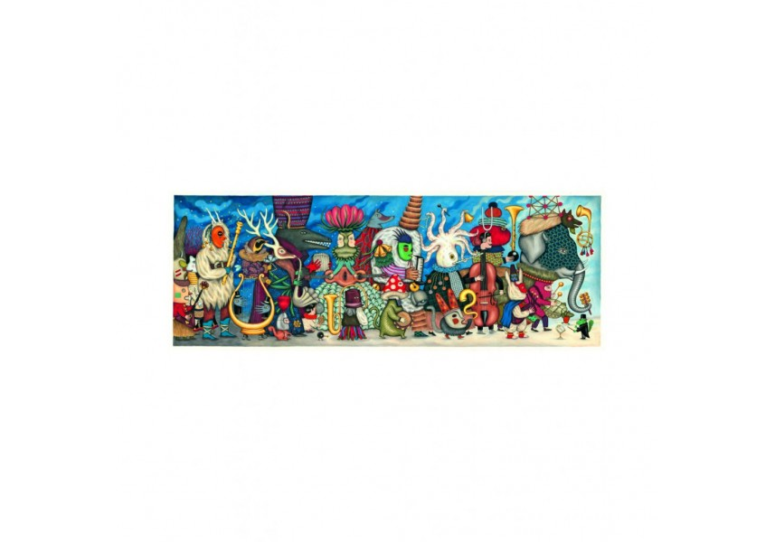 Puzzlový obraz Orchestr