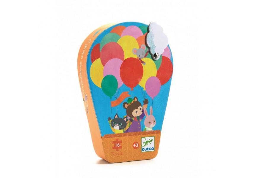 Puzzle v krabičce balón